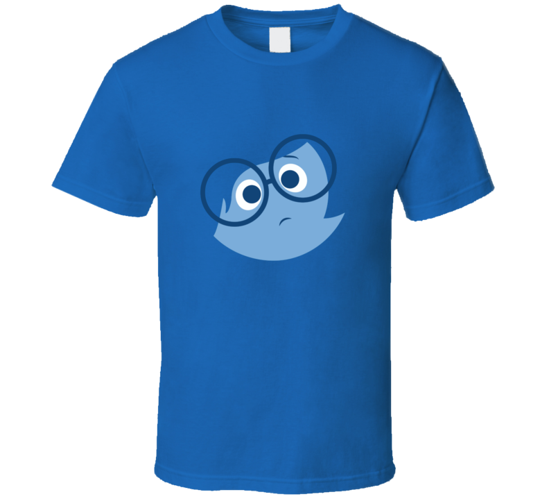 Sadness Inside Out Funny Movie Costume Party T Shirt