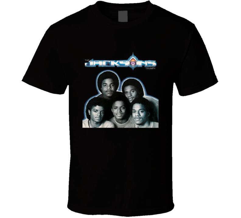 The Jackson's Triumph The Jackson Five Music Fan T Shirt