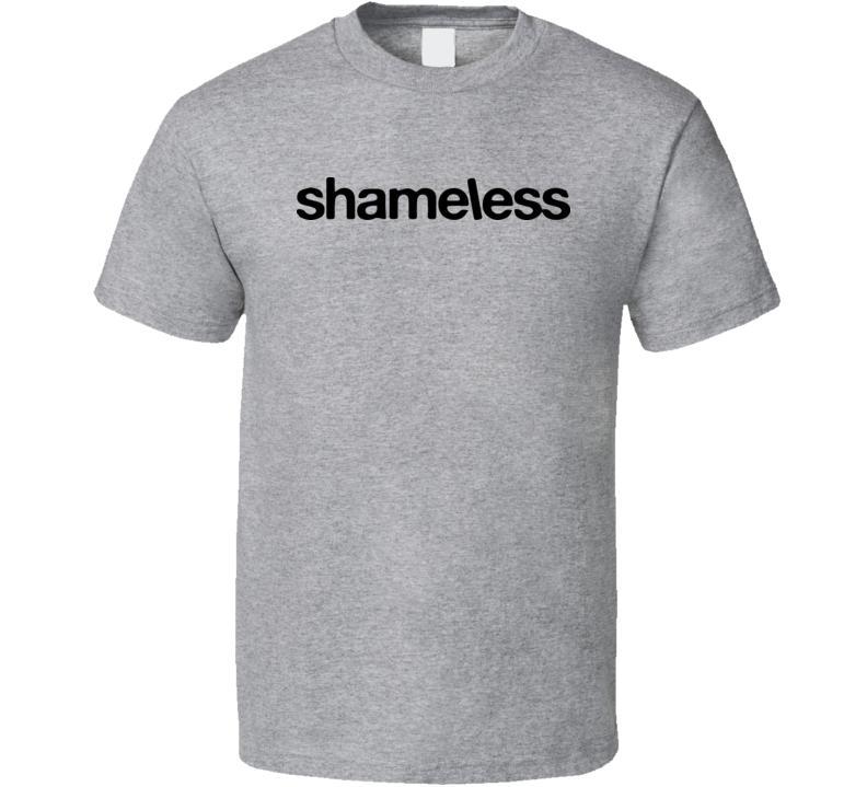Shameless Tv Series Logo Funny Gallagher Family Comedy T Shirt