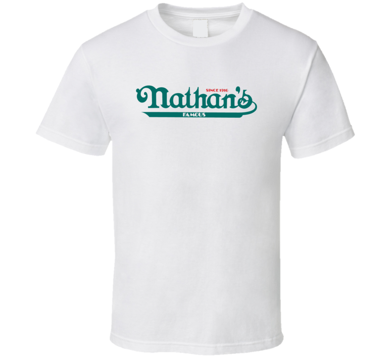 Nathan's Famous Hot Dogs Eating Contest T Shirt