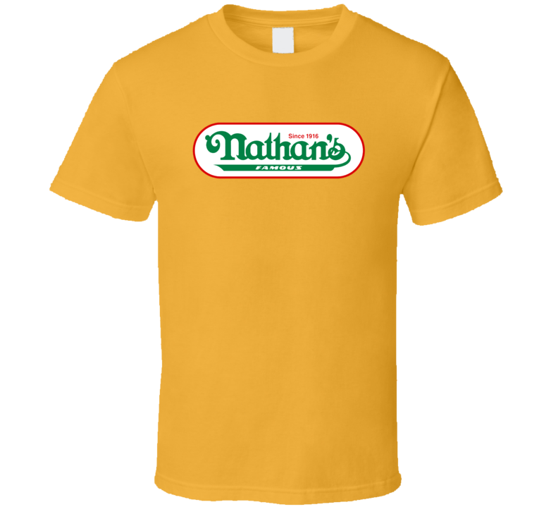 Nathan's Famous Hot Dogs Since 1916 Cool T Shirt