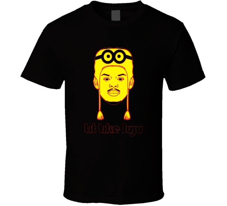 Lit Like Juju Juju Smith Schuster Pittsburg Steelers  Funny Football Sports Fan T Shirt