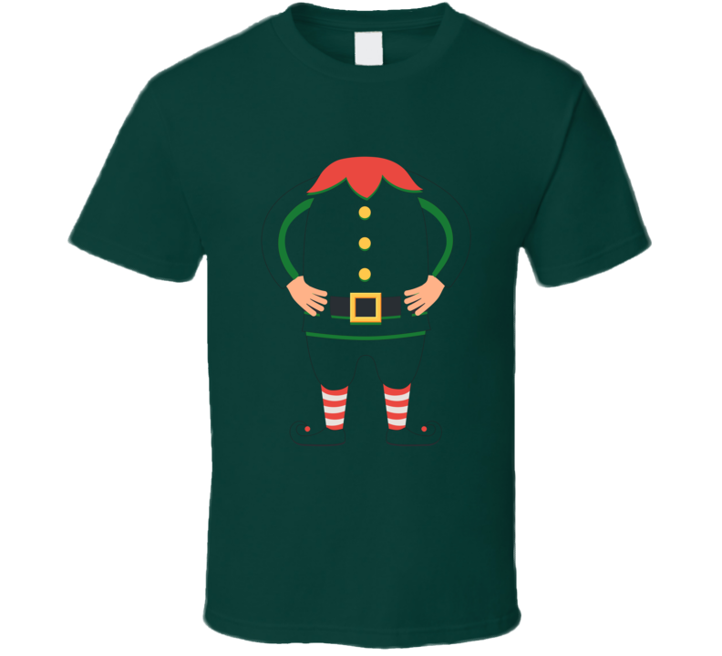 Christmas Elf Funny Party T Shirt