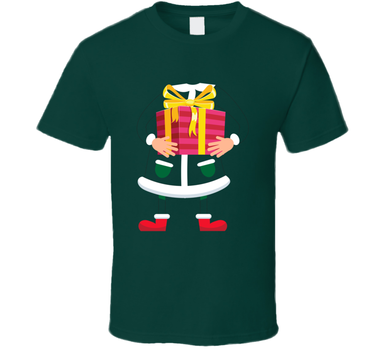 Christmas Elf Girl Party T Shirt