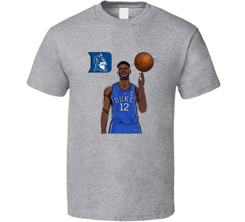 Zion Williamson Duke College Basketball Sports Fan T Shirt
