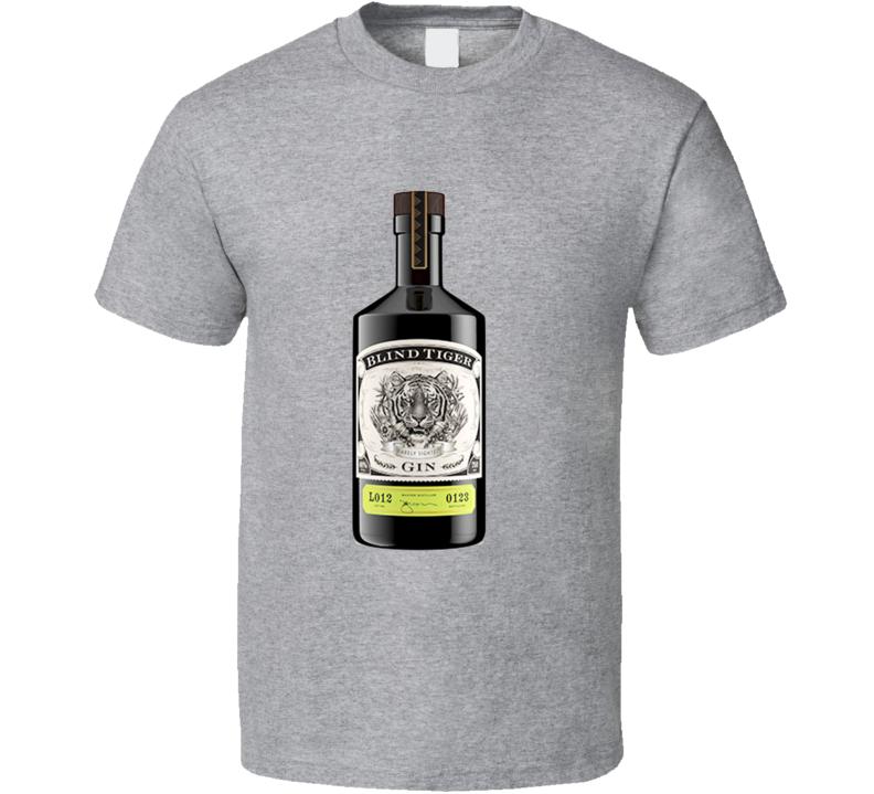 Blind Tiger Gin Prohobition Distilled Spirits T Shirt