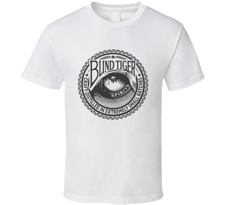 Distilled Spirits Blind Tiger Gin T Shirt
