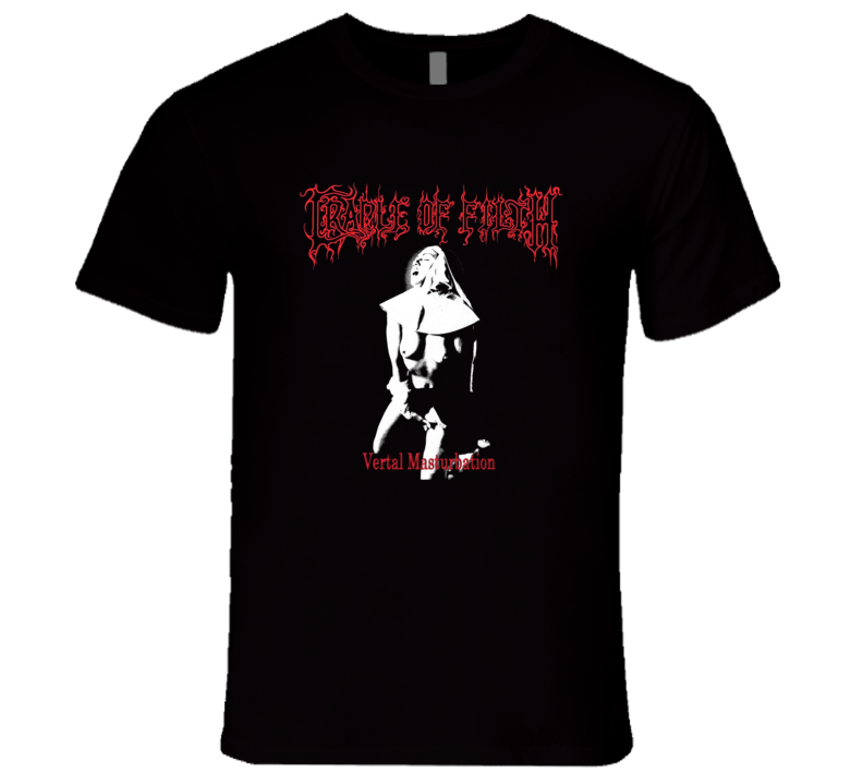 Cradle Of Filth Nun Vertal Masterbation Adult Music Fan T Shirt
