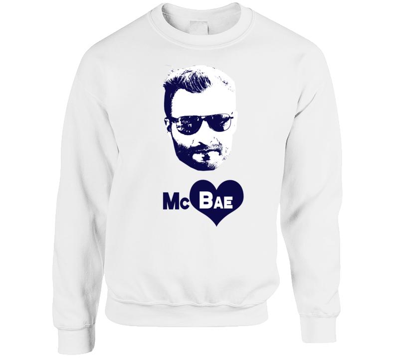 Mcbae Los Angeles Football Coach Veronika Khomyn Wears Sean Mcvay Supportive Fan Crewneck Sweatshirt T Shirt