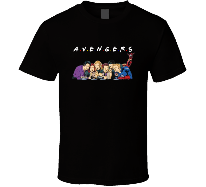 Avengers Friends Parody Funny T Shirt
