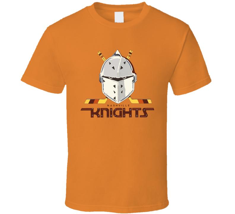 Nashville Knights Cool Retro Hockey T Shirt