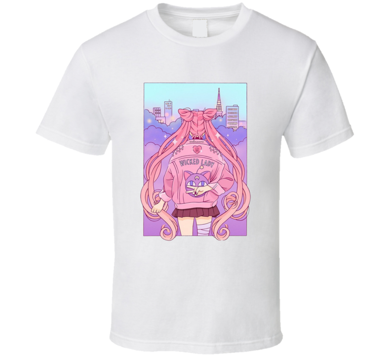 Sailormoon Wicked Lady T Shirt