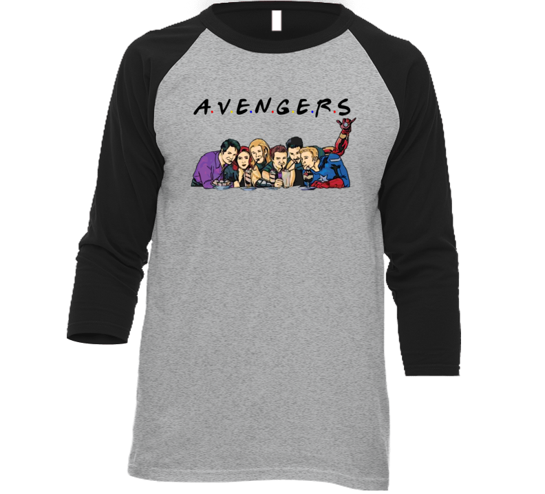 Avengers Friends Parody Cool Movie Funny T Shirt