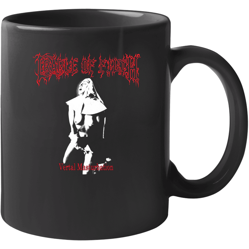 Cradle Of Filth Nun Vertal Masterbation Adult Music Fan Mug