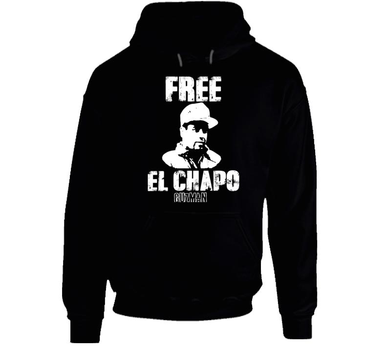 Free El Chapo Guzman Hoodie