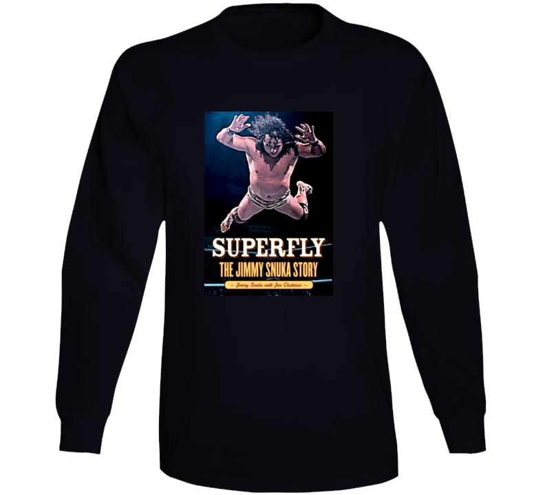 Superfly The Jimmy Snuka Story Wrestler Long Sleeve