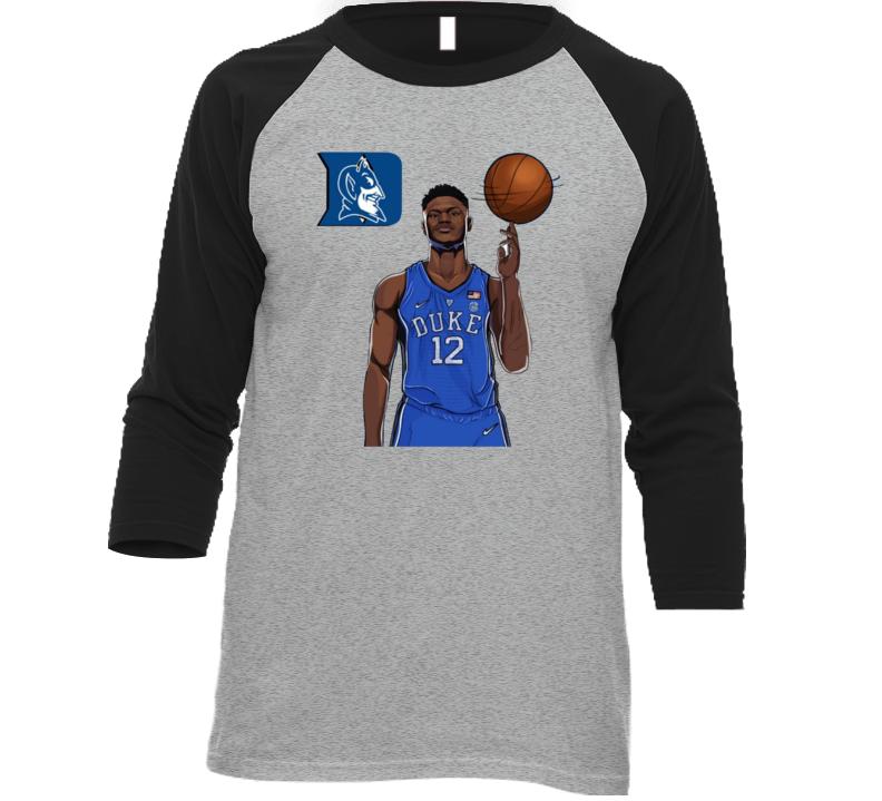 Zion Williamson Duke College Basketball Sports Fan T Shirt