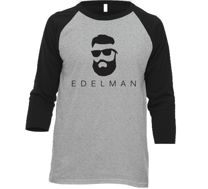 Julian Edelman Beard New England Football T Shirt