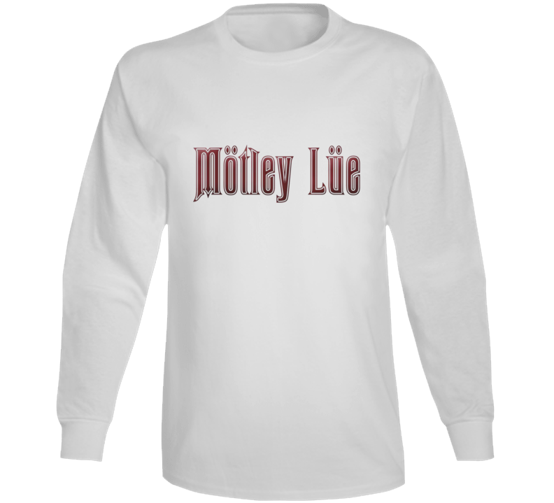 Motley Lue Hot Tub Time Machine Movie Film Long Sleeve