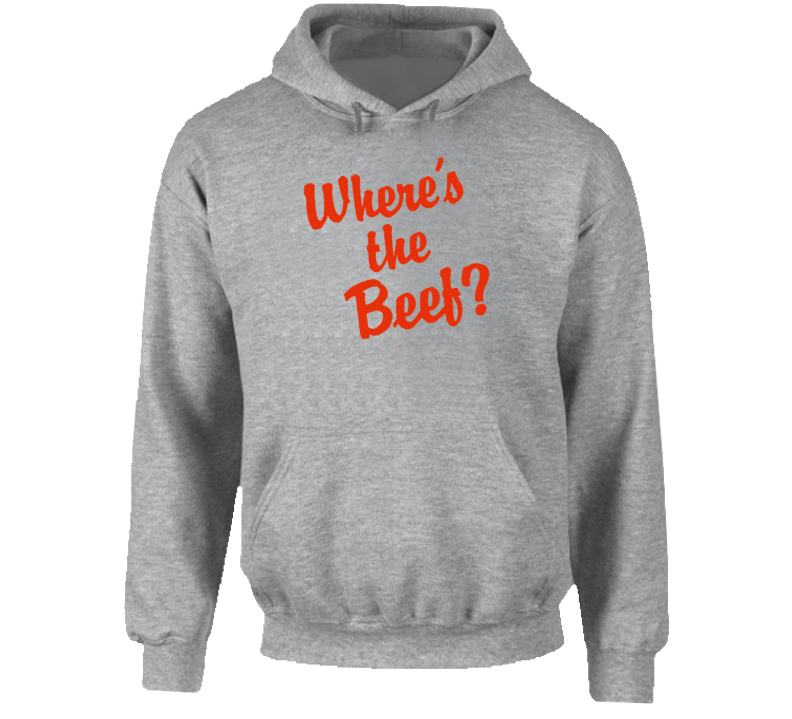 Where's The Beef Funny Hoodie
