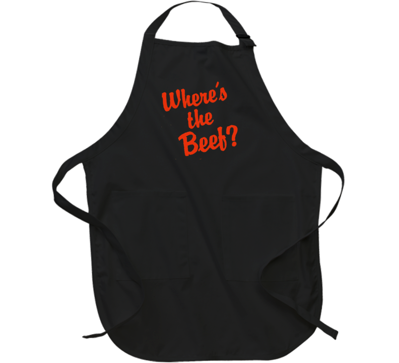 Where's The Beef Funny Apron