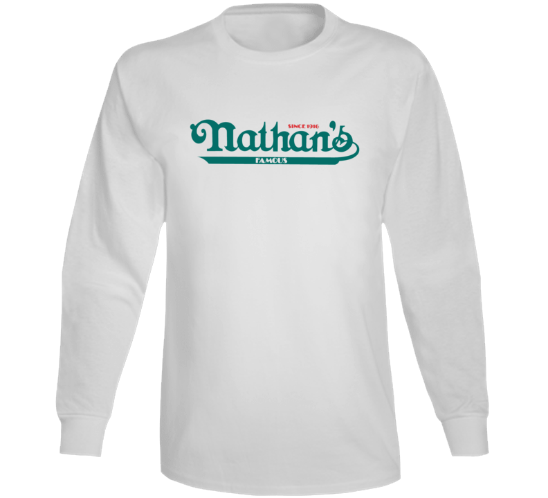 Nathan's Famous Hot Dogs Eating Contest Long Sleeve