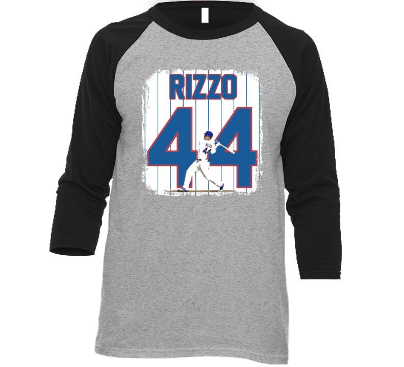 Anthony Rizzo 44 Chicago Mvp Baseball T Shirt