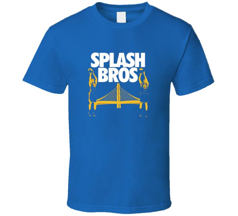 Splash Bro Golden State Basketball Sport T Shirt