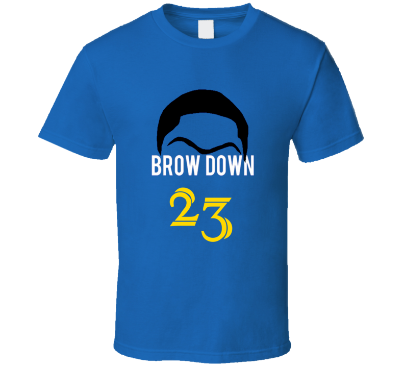 Brow Down Anthony Davis 23 New Orleans Basketball T Shirt