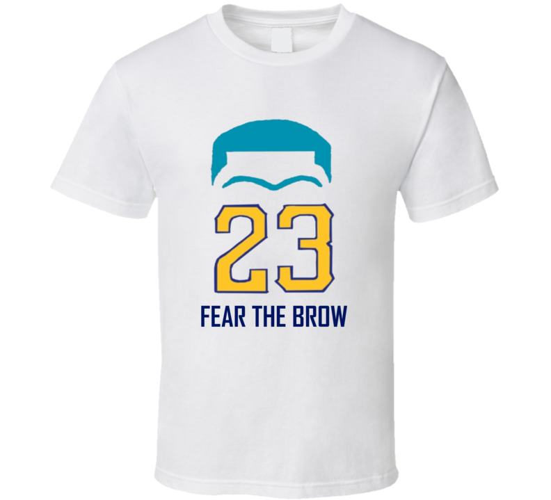Fear The Brow Anthony Davis New Orleans Basketball T Shirt