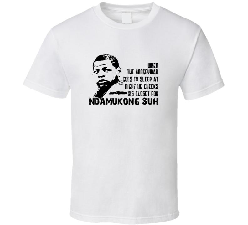 Boogeyman Miami Basketball Ndkamukong Suh T Shirt