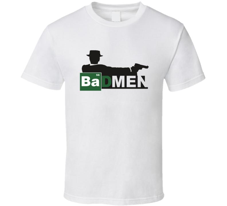 Mad Men Parody Breaking Bad TV Show T Shirt