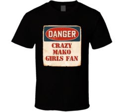 Crazy mako girls Fan Music Artist Vintage Sign T Shirt