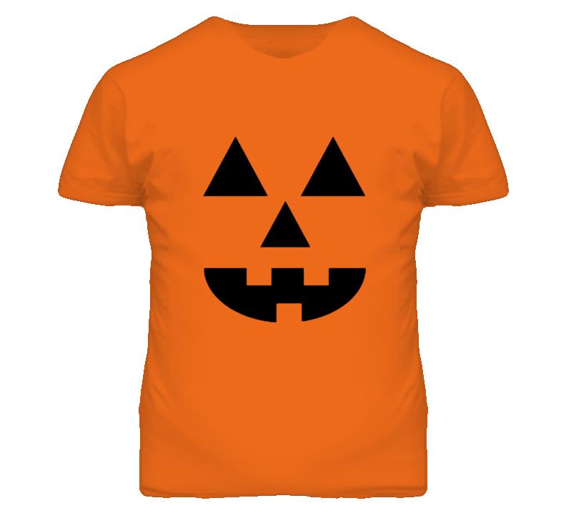 Halloween Pumpkin Face Party T Shirt