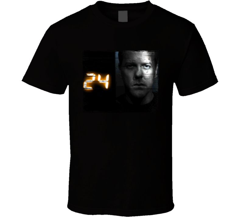 24 TV Show Distressed Look T Shirt
