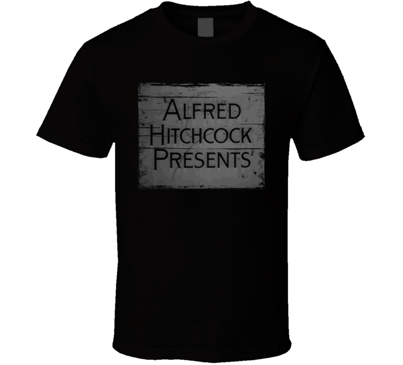 Alfred Hitchcock Presents  TV Show Distressed Look T Shirt