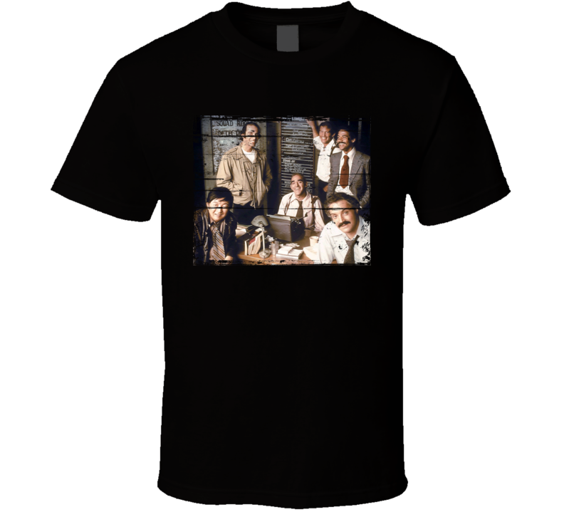 Barney Miller  TV Show Distressed Look T Shirt
