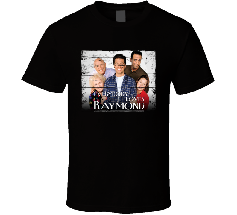Everybody Loves Raymond  TV Show Distressed Look T Shirt