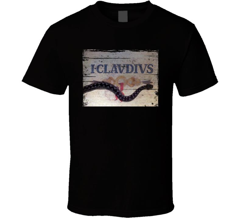 I Claudius  TV Show Distressed Look T Shirt