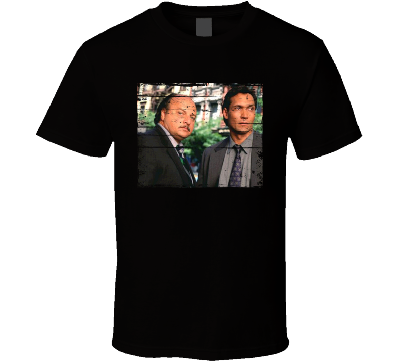 NYPD Blue TV Show Distressed Look T Shirt