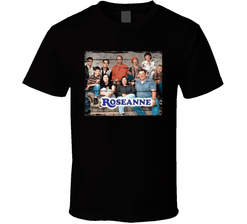 Roseanne  TV Show Distressed Look T Shirt