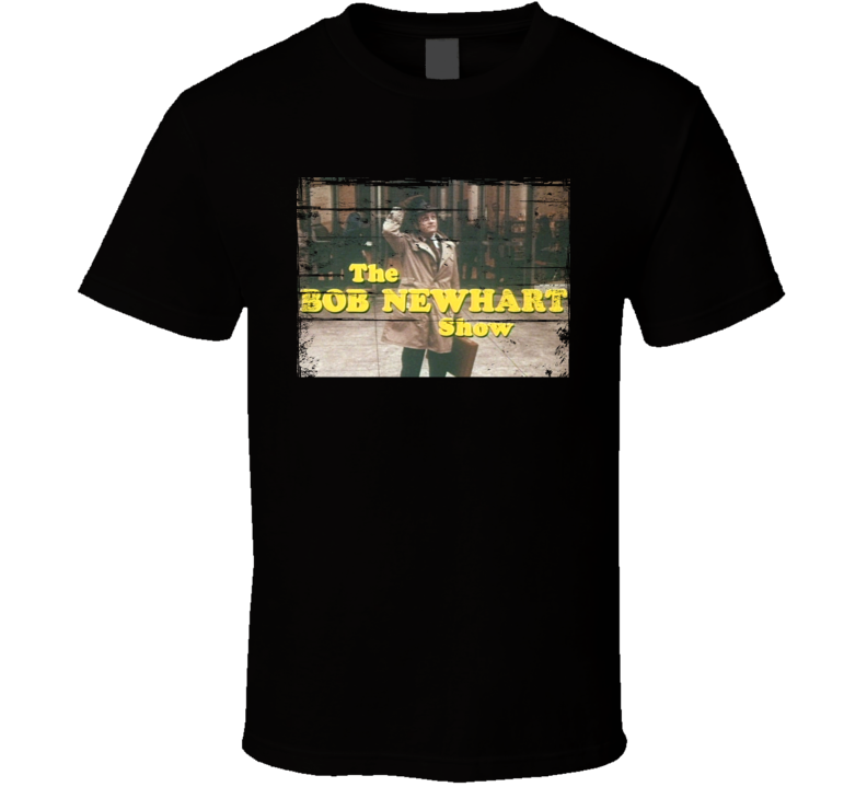 The Bob Newhart Show  TV Show Distressed Look T Shirt