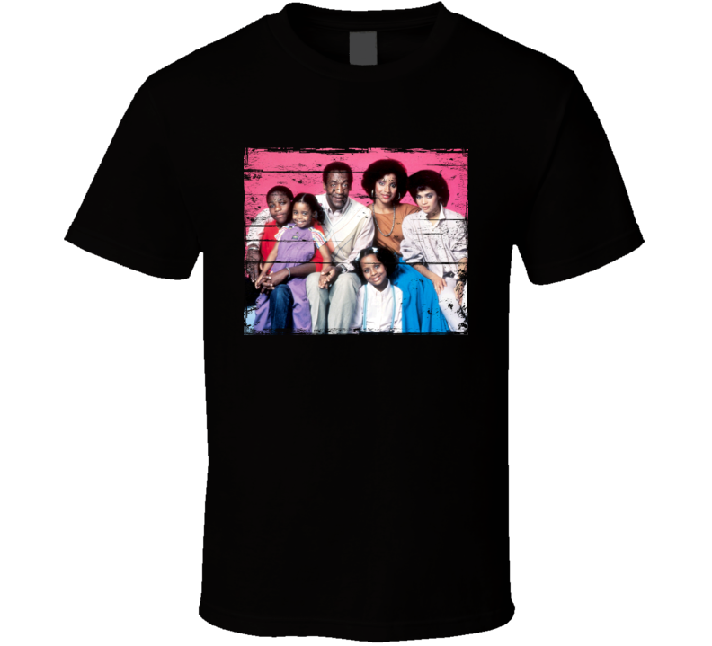 The Cosby Show TV Show Distressed Look T Shirt