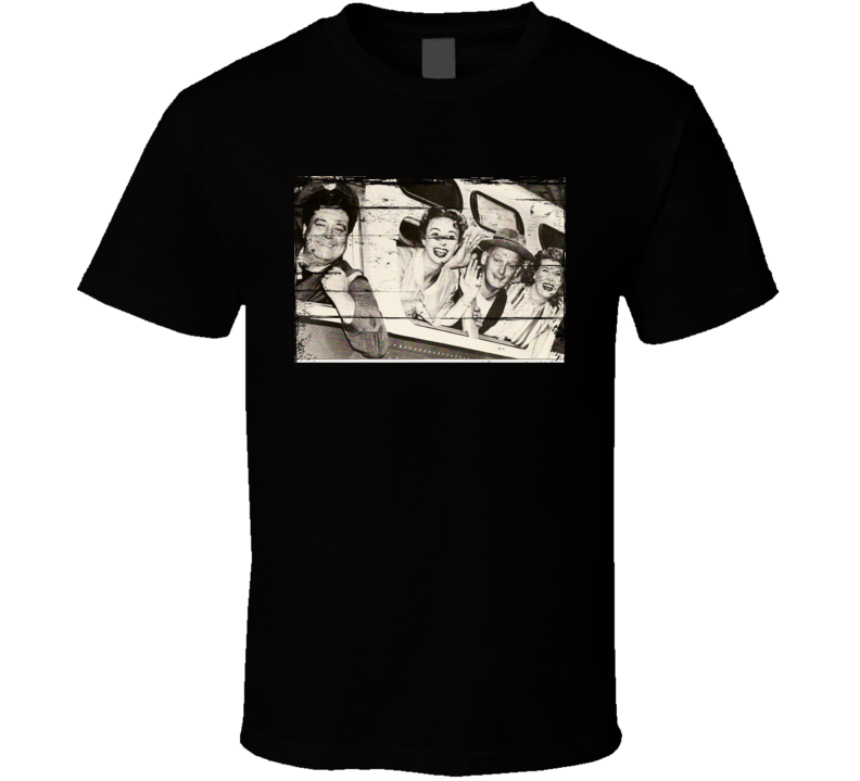 The Honeymooners TV Show Distressed Look T Shirt