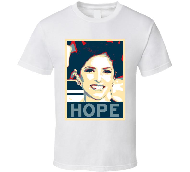 Anna Kendrick HOPE poster T Shirt
