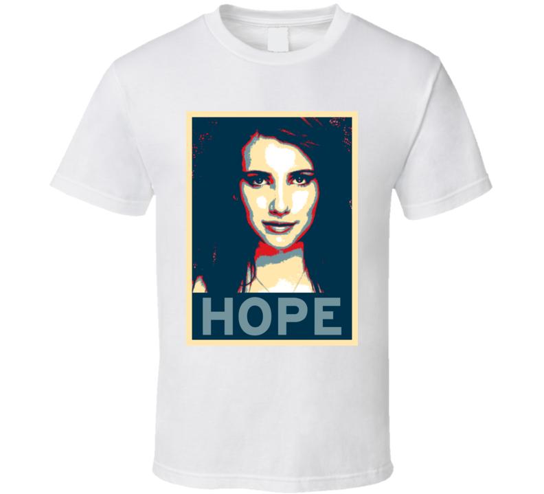Emma Roberts HOPE poster T Shirt