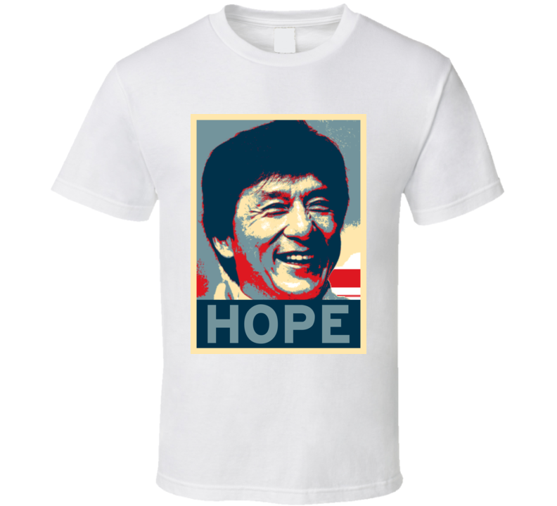 Jackie Chan HOPE poster T Shirt