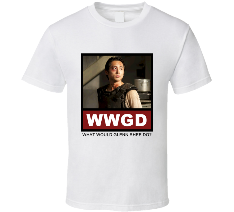 What Would Glenn Rhee Do WWGD The Walking Dead T Shirt
