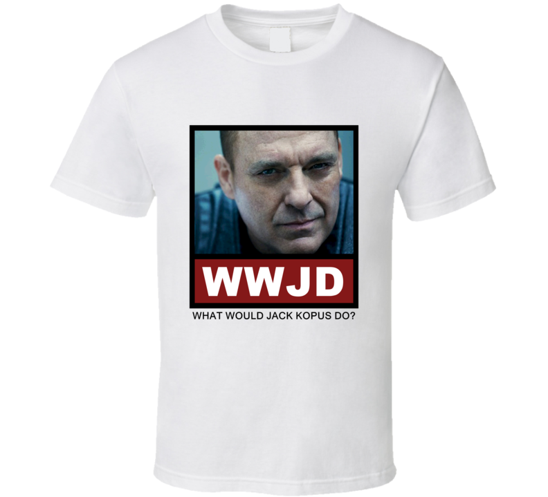 What Would Jack Kopus Do WWJD The Red Road T Shirt