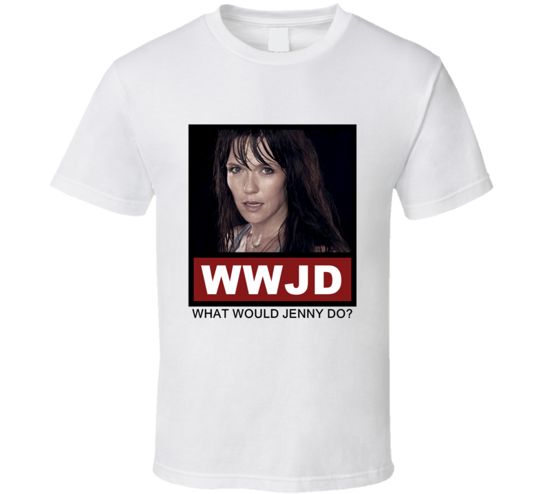 What Would Jenny Do WWJD The League T Shirt